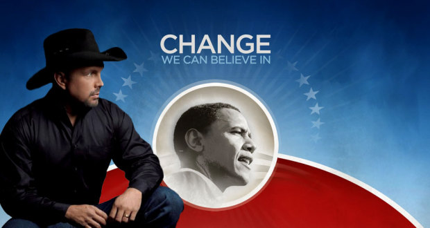 L'Idiot Utile de Garth Brooks dit qu'il Aime Obama à Mort garth brooks useful idiot 620x330