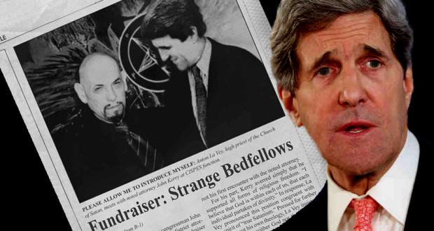 John Kerry et L'Église de Satan.  Vérité ou Truquage? john kerry and the church of satan hoax 620x330