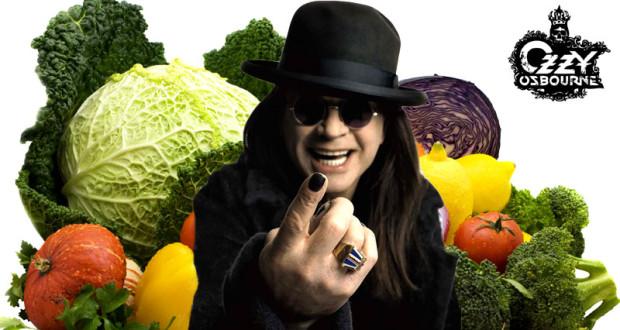Ozzy Osbourne se Converti au Végétarisme… ozzy vegetarian 620x330