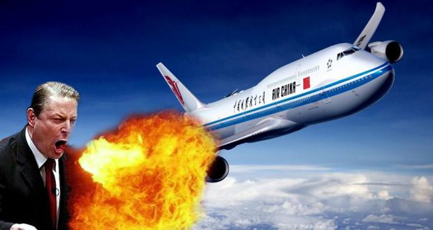Autre Niaiserie: Le Réchauffement Climatique va Empêcher les Avions de Décoller selon les Experts no fly global warming 620x330