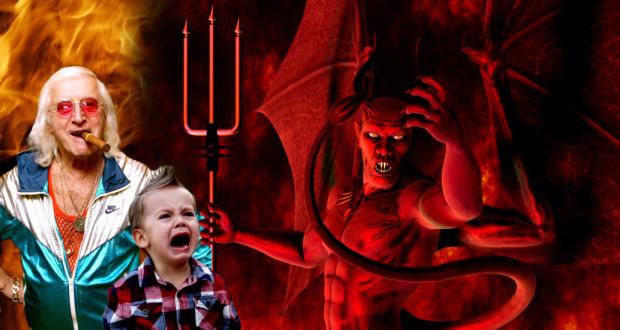 Le Cercle de Pédophiles Sataniques de Jimmy Savile jimmy saville and satan 1024x576 1 620x330